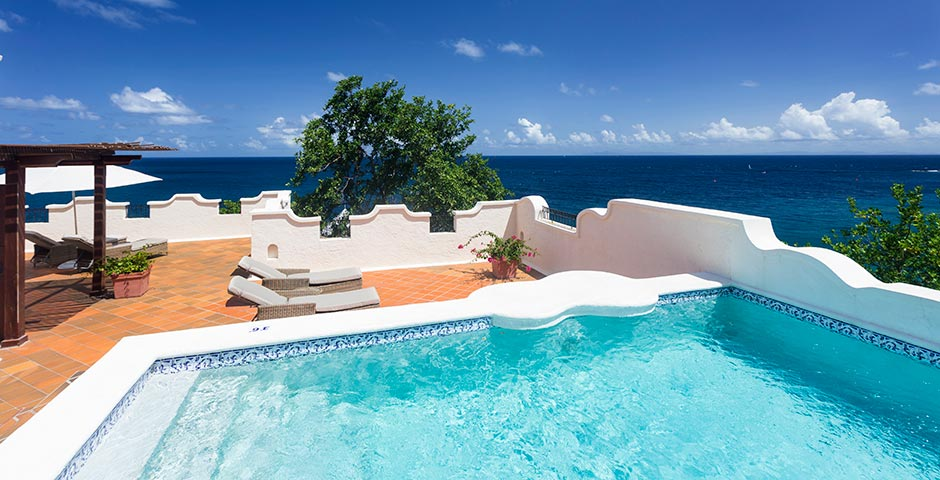 Oceanview Villa Suite with Pool and Roof Terrace